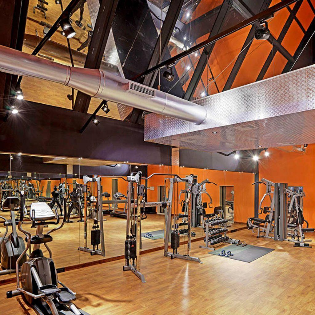 Gym of Mangalyam Meadows, Valsad